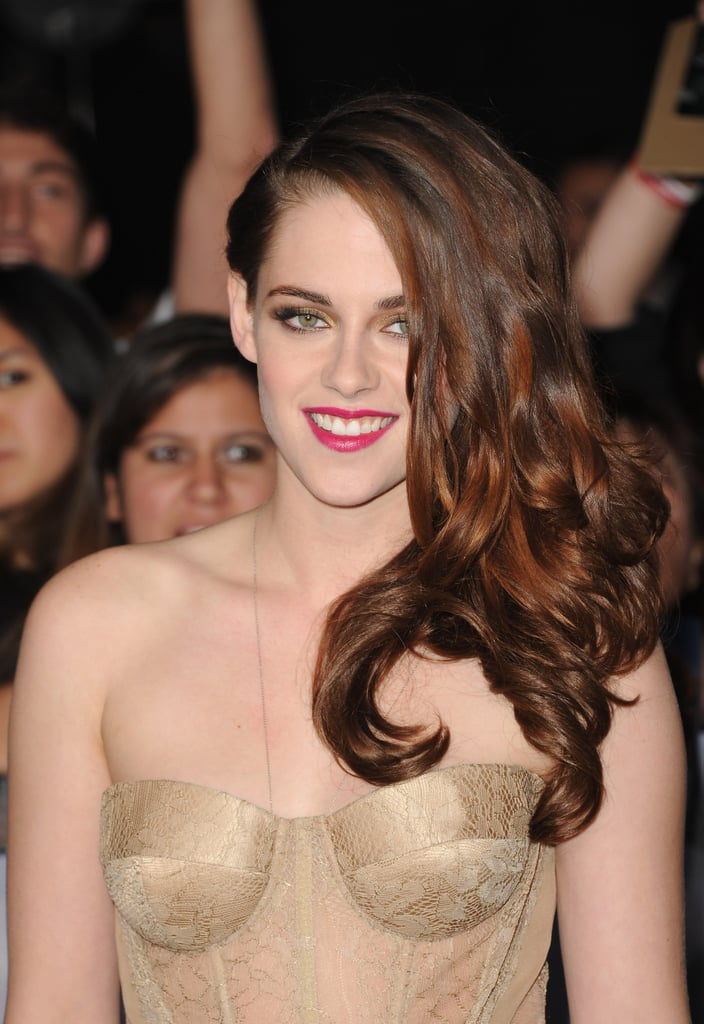 Kristen Stewart's Twilight World Premiere Beauty Look: Get Up Close