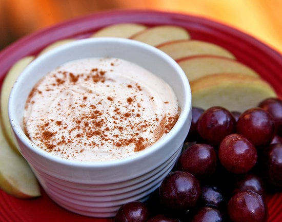 Creamy Peanut Butter Dip With Fruit