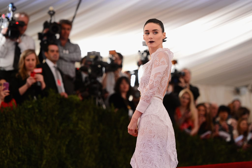 Rooney Mara's Champagne Sipping Met Gala Night