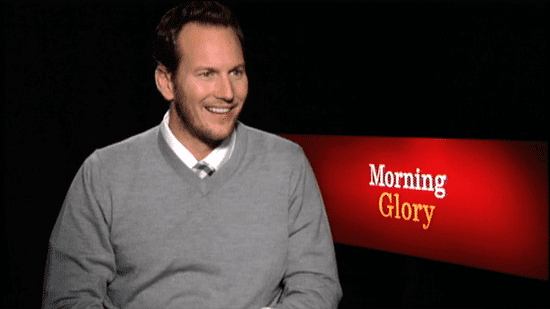 Video of Patrick Wilson Talking About Love Scenes With Rachel McAdams 2010-11-10 15:53:34