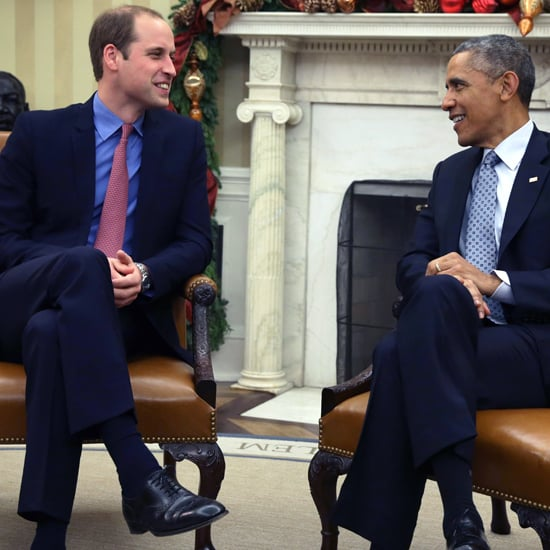 Prince William at the White House December 2014 | Pictures
