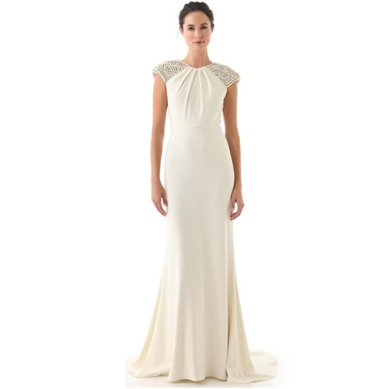 Dress, approx $3,012, Badgley Mischka Collection at Shopbop