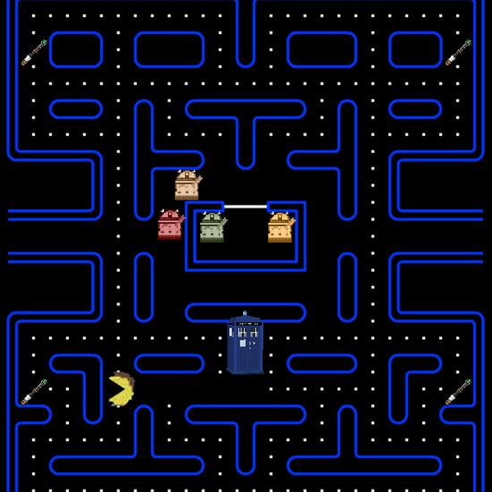 Doctor Who PacMan Game