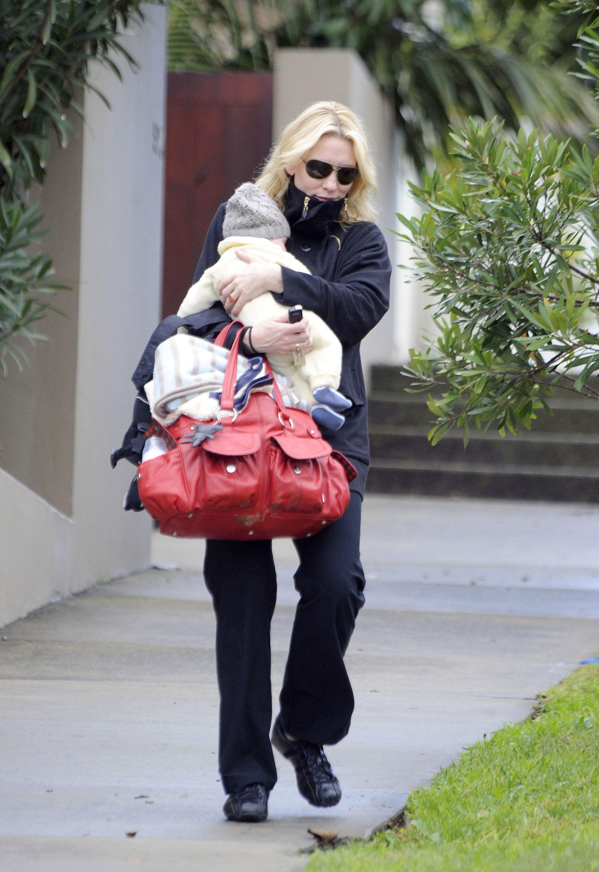 Cate Blanchett and Son Ignatius Take a Stroll