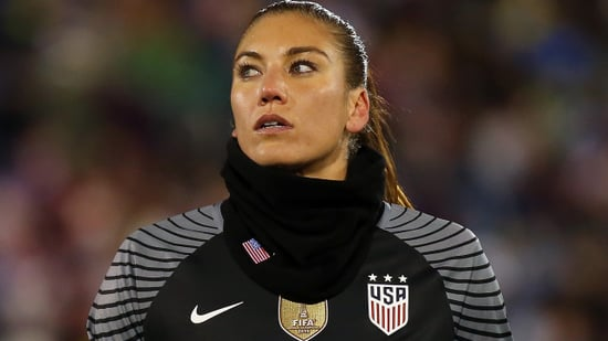 Hope Solo Suspended By U.S. Soccer For Six Months Following Rio Comments
