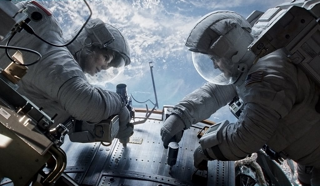 Gravity  What it's about: Two astronauts (Sandra Bullock and George Clooney) are left adrift in space following a mechanical accident. Why we're interested: If there are two actors I'd watch put on a two-man show in space, it's Bullock and Clooney. Plus, not only has it gotten terrific buzz out of the Venice Film Festival, Alfonso Cuarón (Children of Men) is directing, which means we can expect some masterful camera work. When it opens: Oct. 4 Watch the trailer for Gravity.
