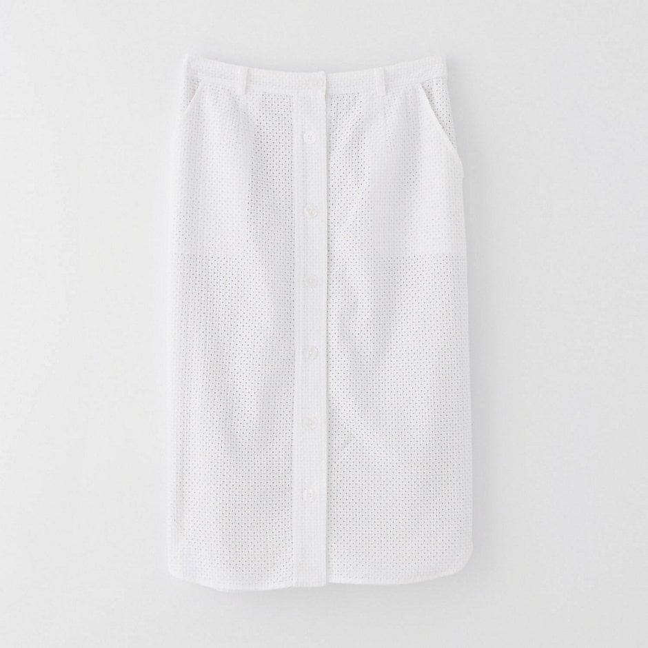 Steven Alan Eyelet Pencil Skirt