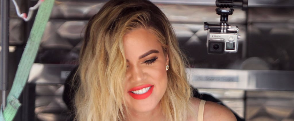 Khloé Kardashian Serves Ice Cream to People During a Supersweet LA Outing