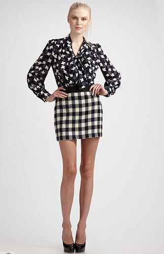 Checkers go amazingly well with another quirky print. Shop this look.
