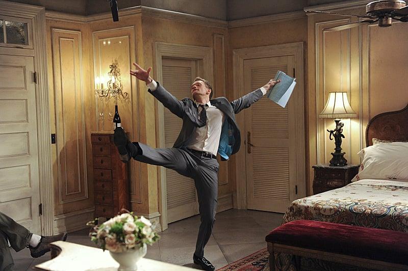 Neil Patrick Harris does an impromptu dance move.