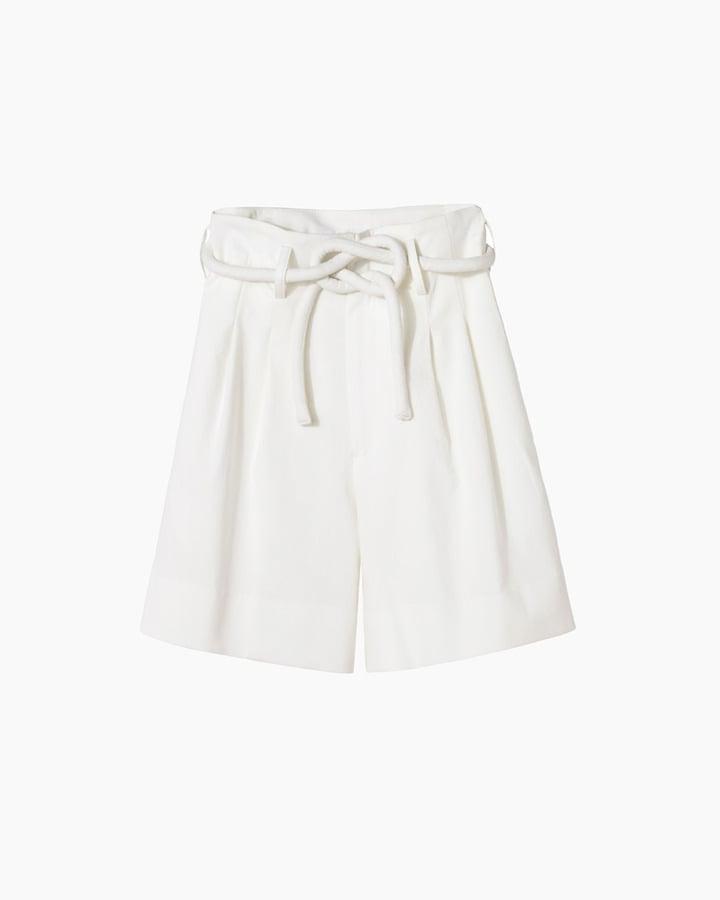 Apiece Apart Paper-Bag Waist Shorts