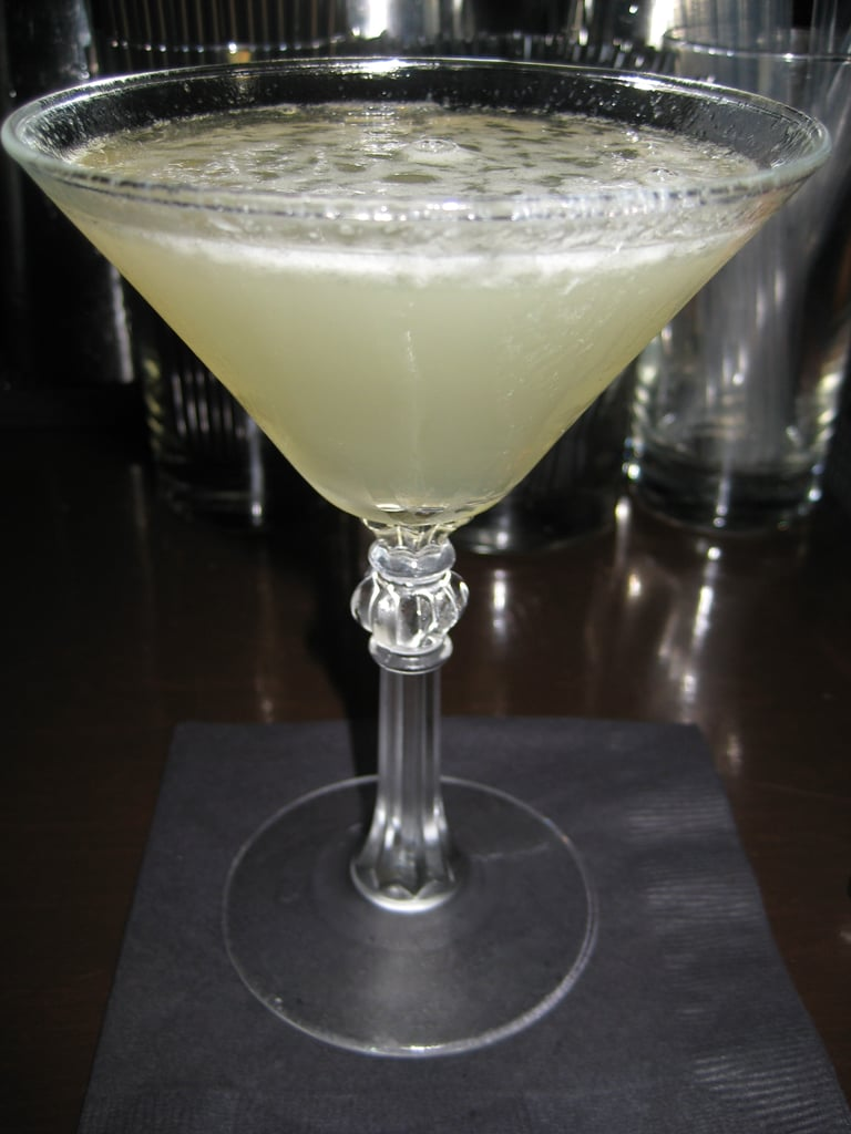 My drink of choice was a lime daiquiri.