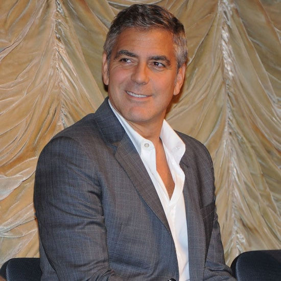 George Clooney and Stacy Keibler Pictures in LA