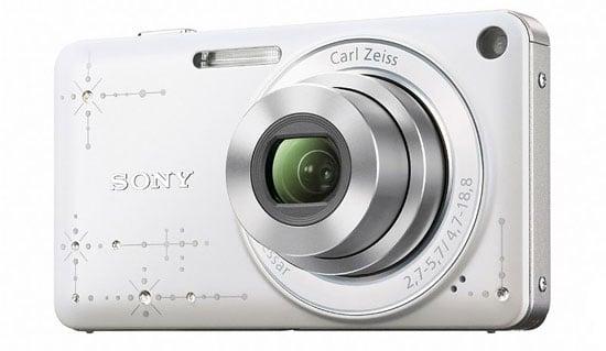 Rhinestone Sony Cyber-Shot DSC-W350D Camera Released in Japan