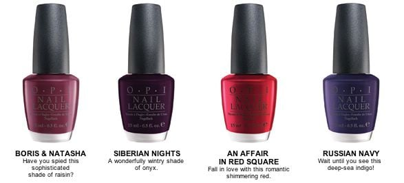 New Product Alert: OPI Russian Collection