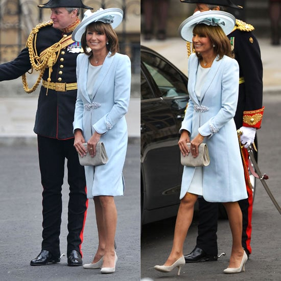 Carole Middleton Dress: Designed by Catherine Walker