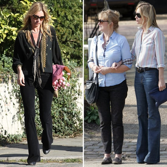 Kate Moss Pictures With Mom Linda Moss