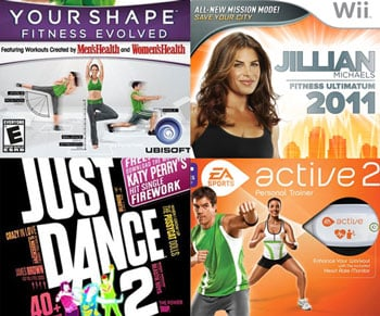 Fitness Video Games on Sale