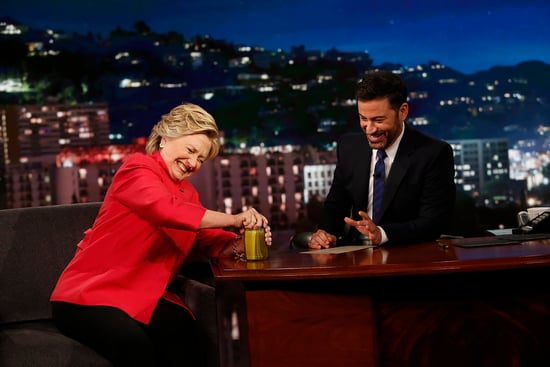 Jimmy Kimmel Tests Hillary's Health