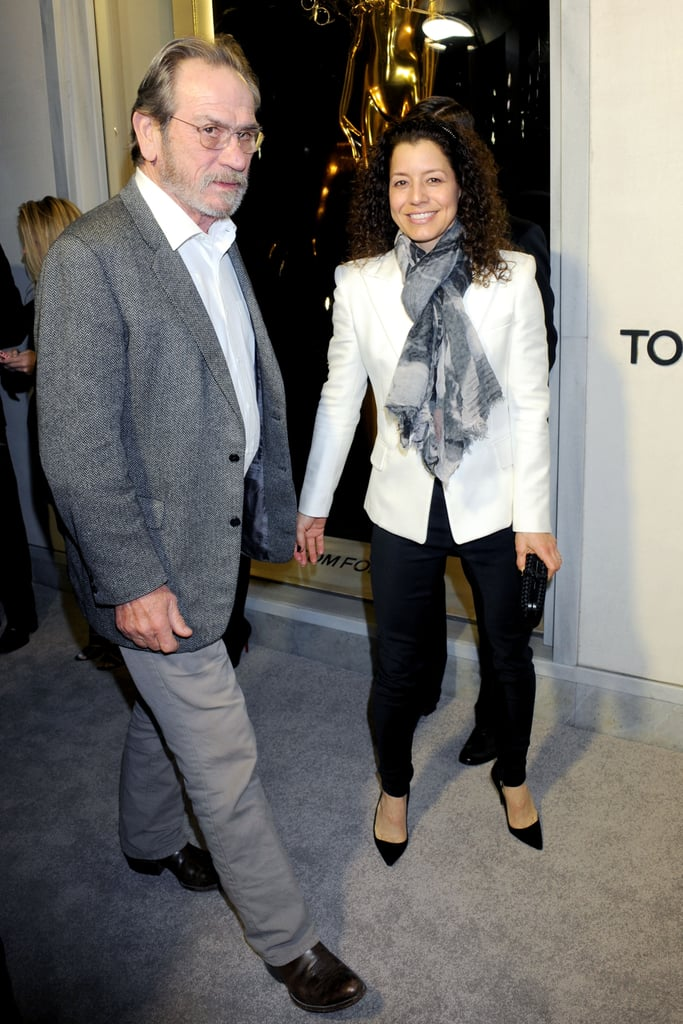 Tommy Lee Jones and wife Dawn Laurel Jones arrived at the event.