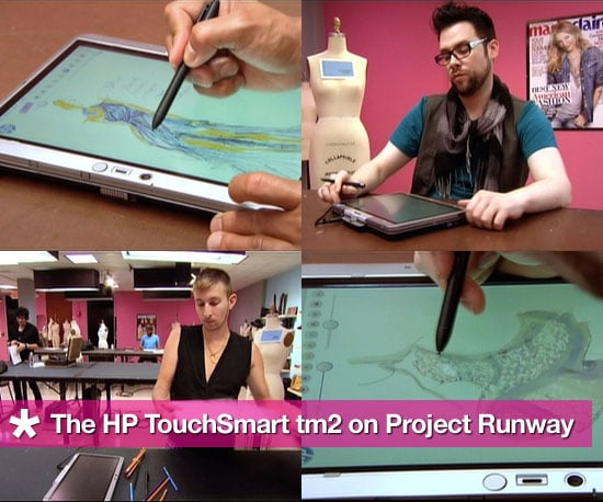 HP TouchSmart tm2: the Computer Used on Project Runway