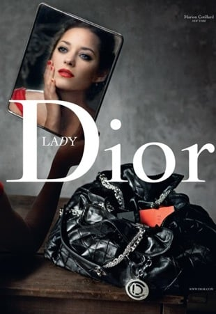 Fab Ad: Marion Cotillard Returns as Lady Dior For Fall '09