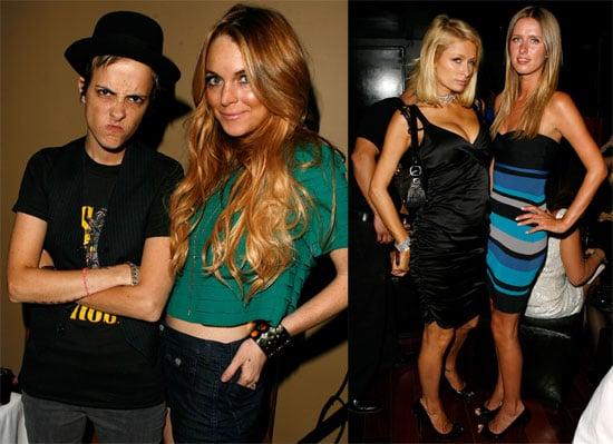 Photos of Lindsay Lohan, Samantha Ronson, Paris Hilton, Nicky Hilton at Apple Lounge Party