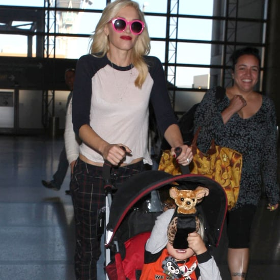 Gwen Stefani and Zuma Rossdale Head to London | Pictures