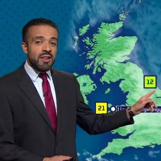 British Weatherman Pronounces Long Welsh Village Name Video