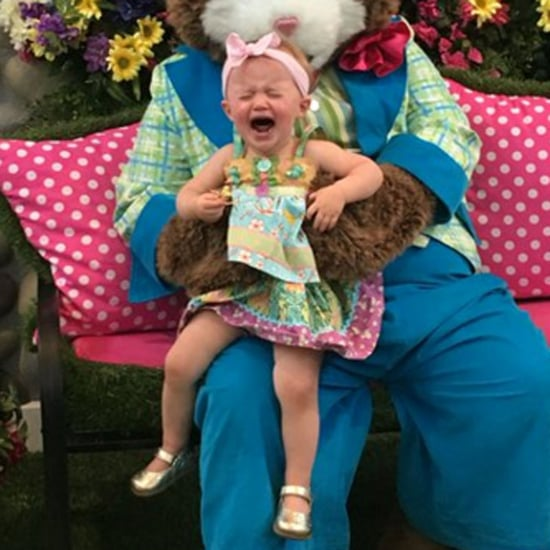 Kelly Clarkson's Daughter Easter Bunny Picture 2016