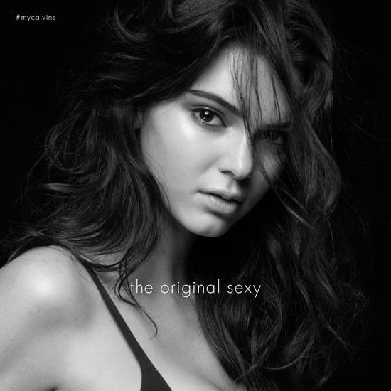 Kendall Jenner My Calvins Calvin Klein Campaign
