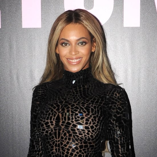 Pictures: Beyonce In Black Dress & Boots, Album Launch Party