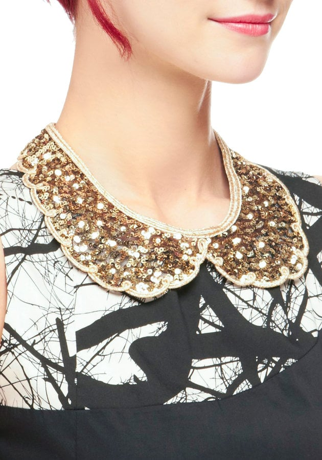 Jazz up a cocktail dress with this cute sequined collar. ModCloth Shine By Me Collar ($30)