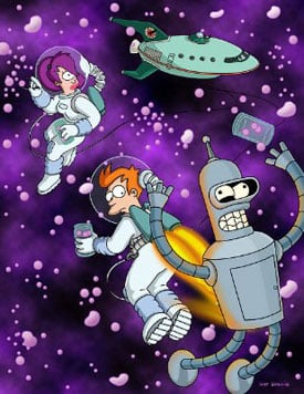 Comedy Central Orders 26 New Episodes of Futurama to Air in 2010