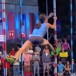 First Woman to Complete American Ninja Warrior