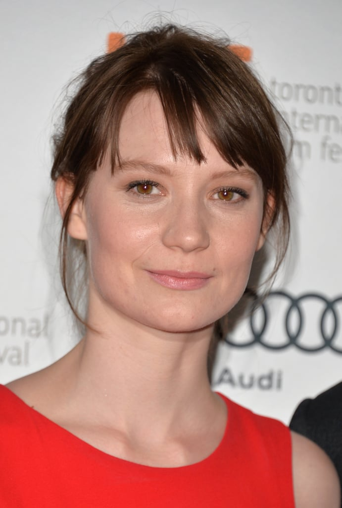 While attending the Only Lovers Left Alive premiere at TIFF, Mia Wasikowska showed off a casual beauty look.