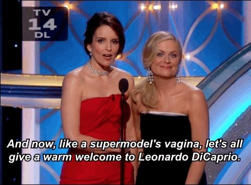 Tina and Amy WENT THERE With Leo