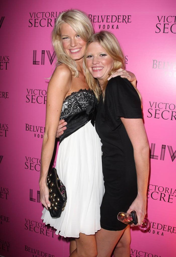 Caroline Winberg and Lara Stone.