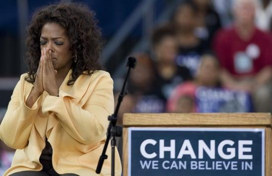 Oprah Doesn't Get an Obama Bump