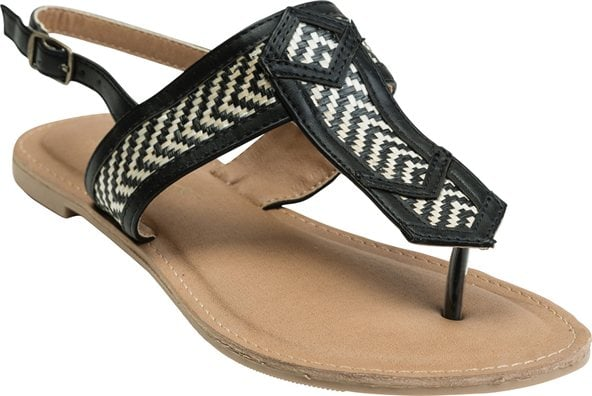 This O'Neill black and white weave ($36) will match nearly everything.