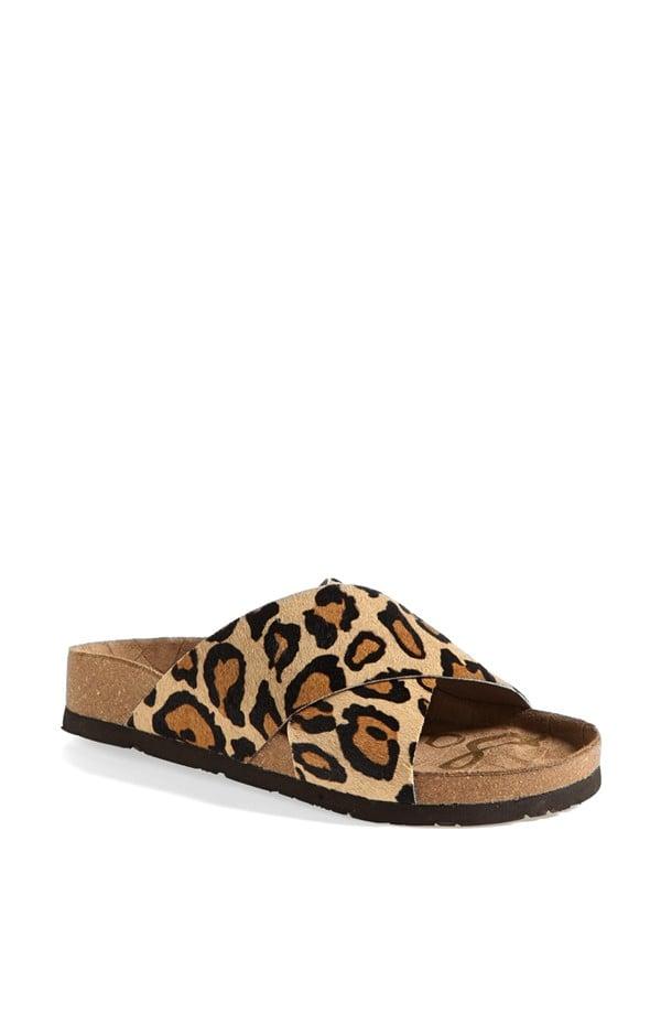 Sam Edelman Animal-Print Sandals