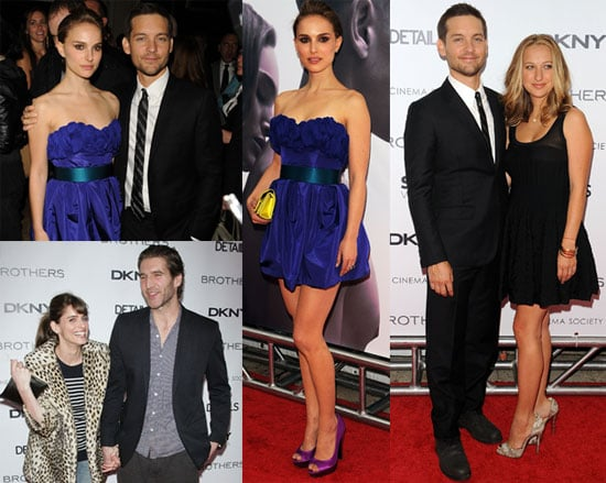 Photos of Natalie Portman, Tobey Maguire, Jennifer Meyer, Amanda Peet, David Benioff, Sebastian Stan, Matthew Bomer at Brothers