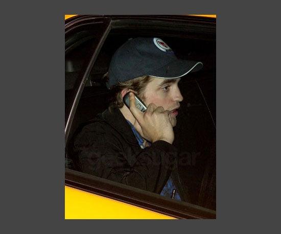 7. Robert Pattinson's Old School Cell Phone