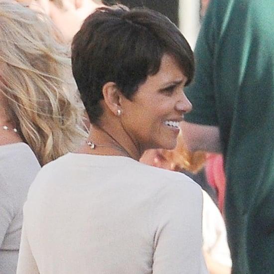 Halle Berry Filming Extant in LA