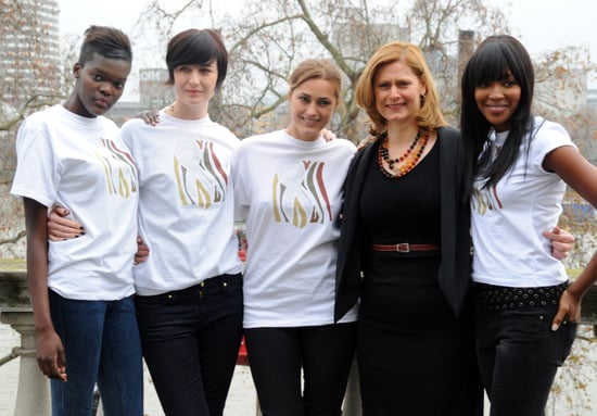 Sarah Brown and Naomi Campbell Organise Fashion for Relief Show