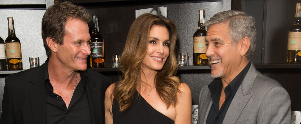 George Clooney Has a Tequila-Filled Night Out With Cindy Crawford and Rande Gerber