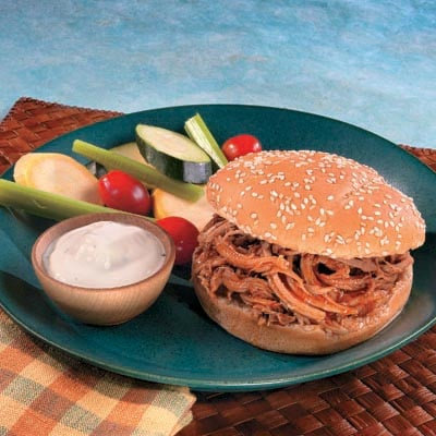 Campbell's Summer Recipes, Pulled Pork Sandwiches