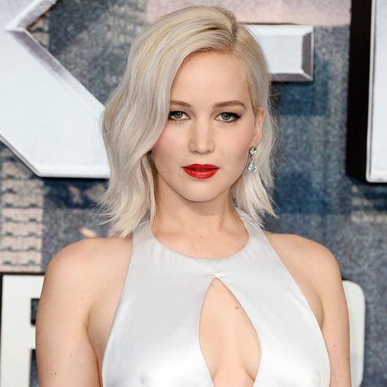 Jennifer Lawrence on X-Men Apocalypse Red Carpet May 2016