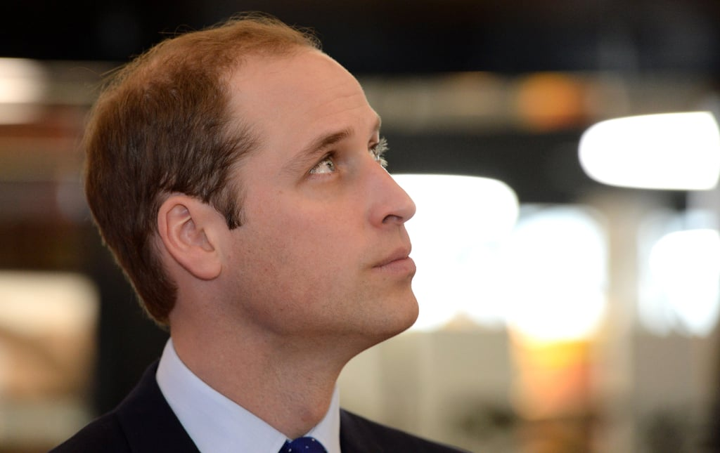 Prince William made three appearances during his Birmingham visit, including a stop at the new library.