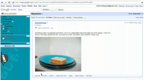 Google Reader Has a New Special Surprise Hidden Inside It